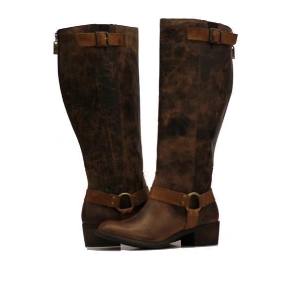 c99ec0d0cbca Vestiture Alamo Tobacco 8W Extra Wide Calf Boot